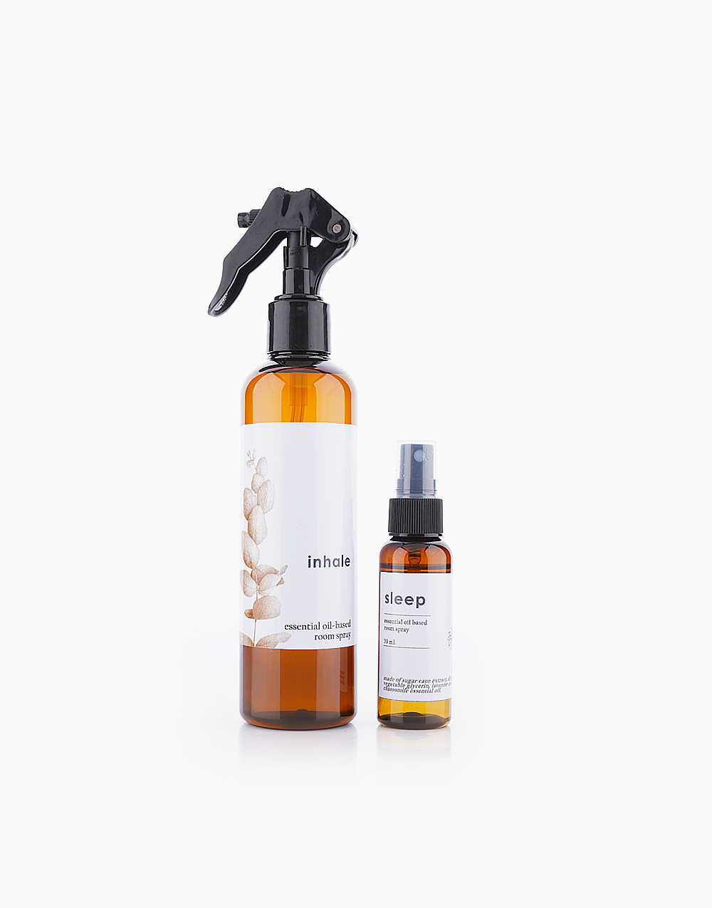 Inhale Natural Room Spray Bundle (212ml + 39ml Sample Spray of Another Scent) by Calyx Life & Home