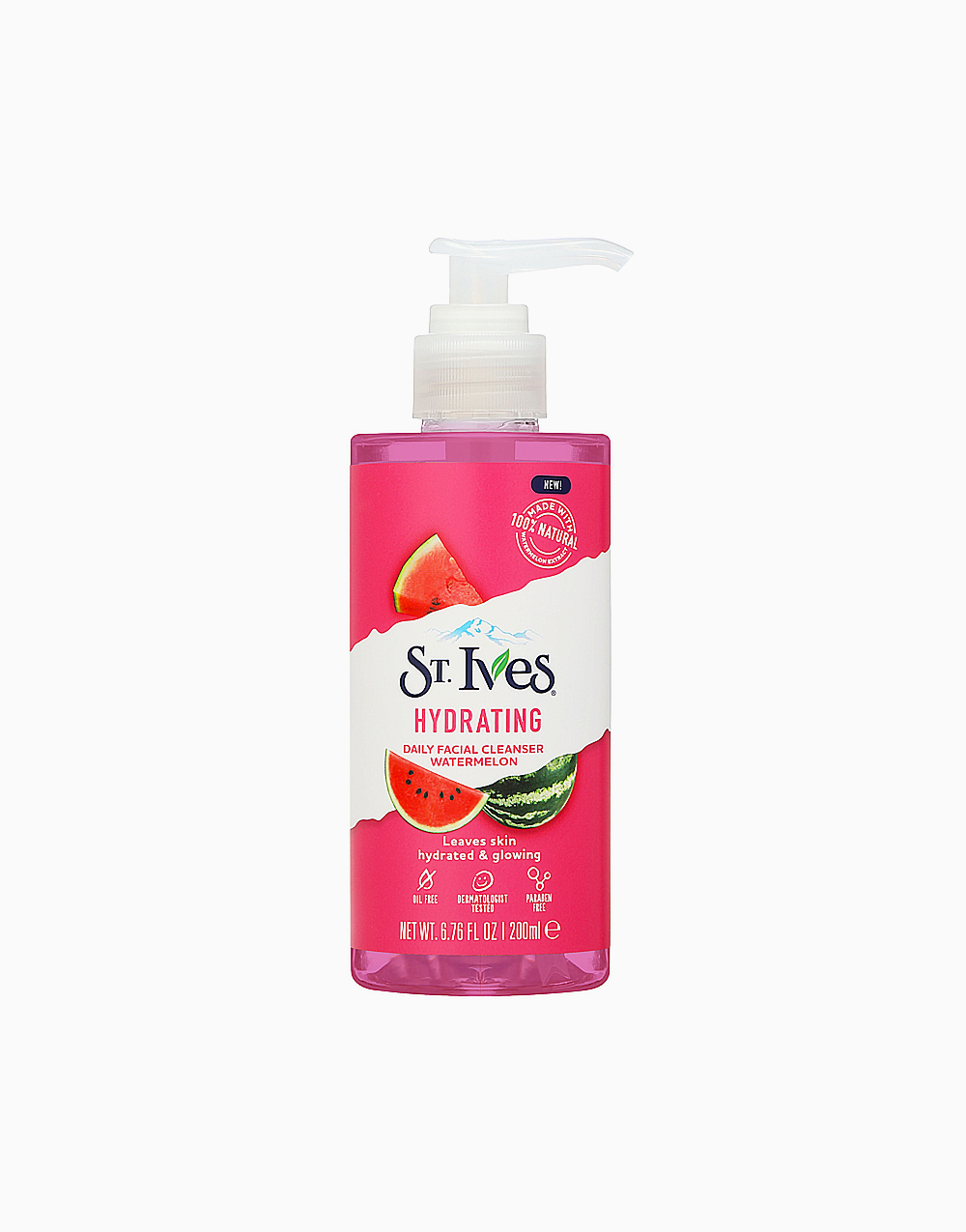 St. Ives Hydrating Daily Cleanser Watermelon (200Ml)  by Unilever Beauty