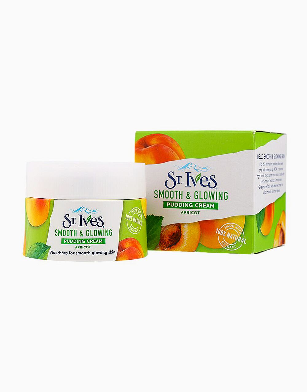St. Ives Pudding Cream Smooth And Glowing Apricot (45G) by Unilever Beauty