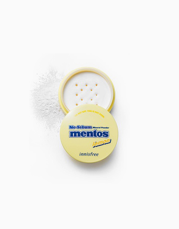 No Sebum Mineral Powder Mentos Edition (5g) by Innisfree | Lemon