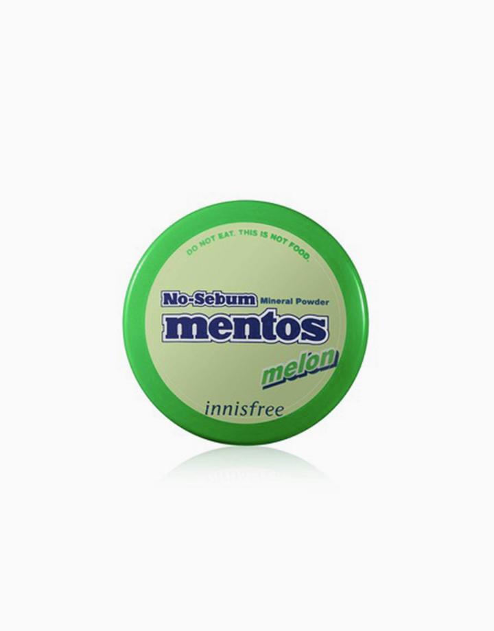 No Sebum Mineral Powder Mentos Edition (5g) by Innisfree | Melon