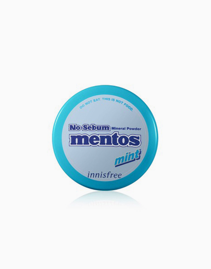 No Sebum Mineral Powder Mentos Edition (5g) by Innisfree | Mint