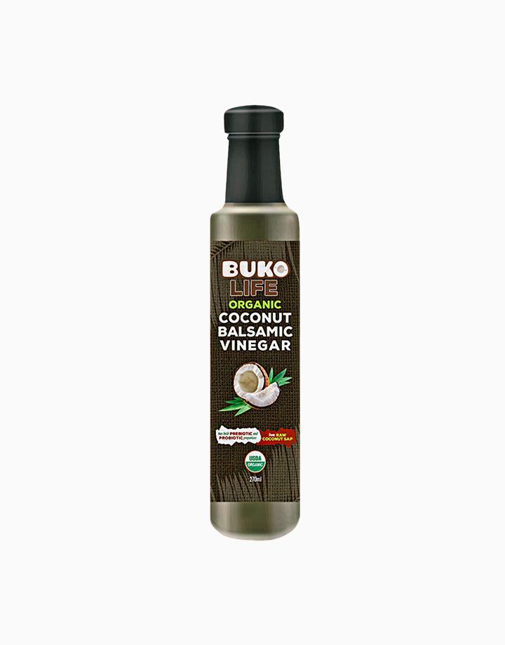 Organic Coconut Balsamic Vinegar (270ml) by Buko Foods