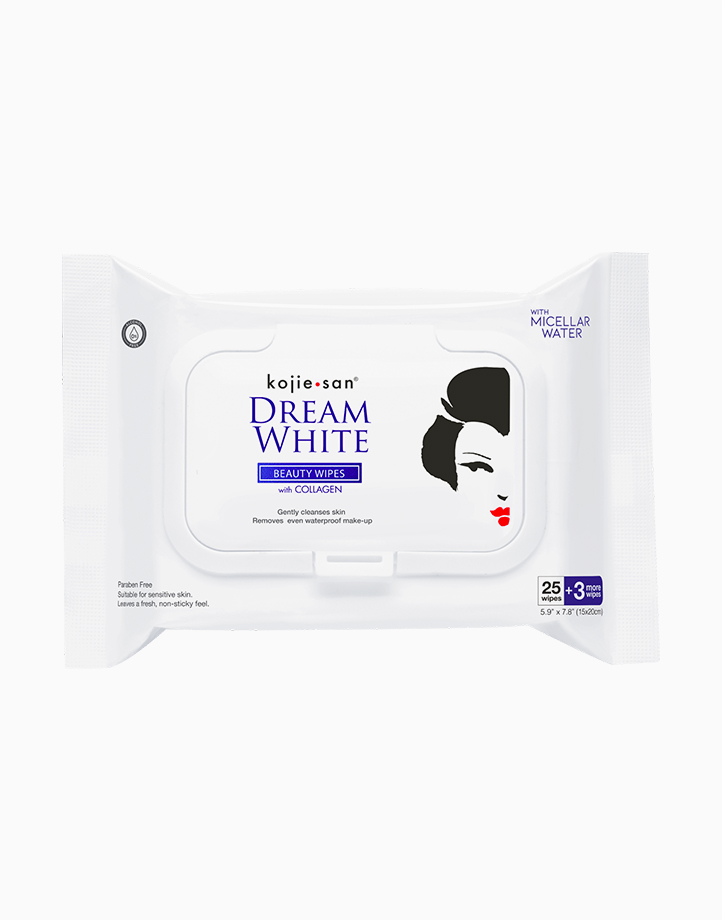 Collagen Beauty Wipes (28 Wipes) by Kojiesan DreamWhite