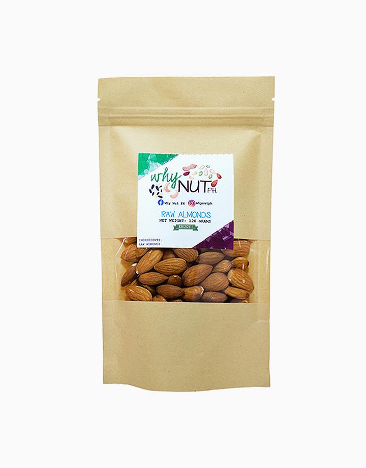 Raw Almonds (120g) by WhyNutPH