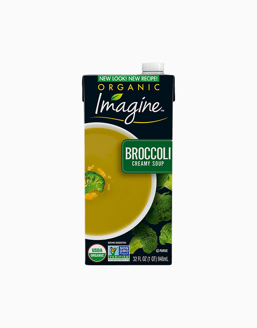Organic Broccoli Creamy Soup (32oz) by Imagine