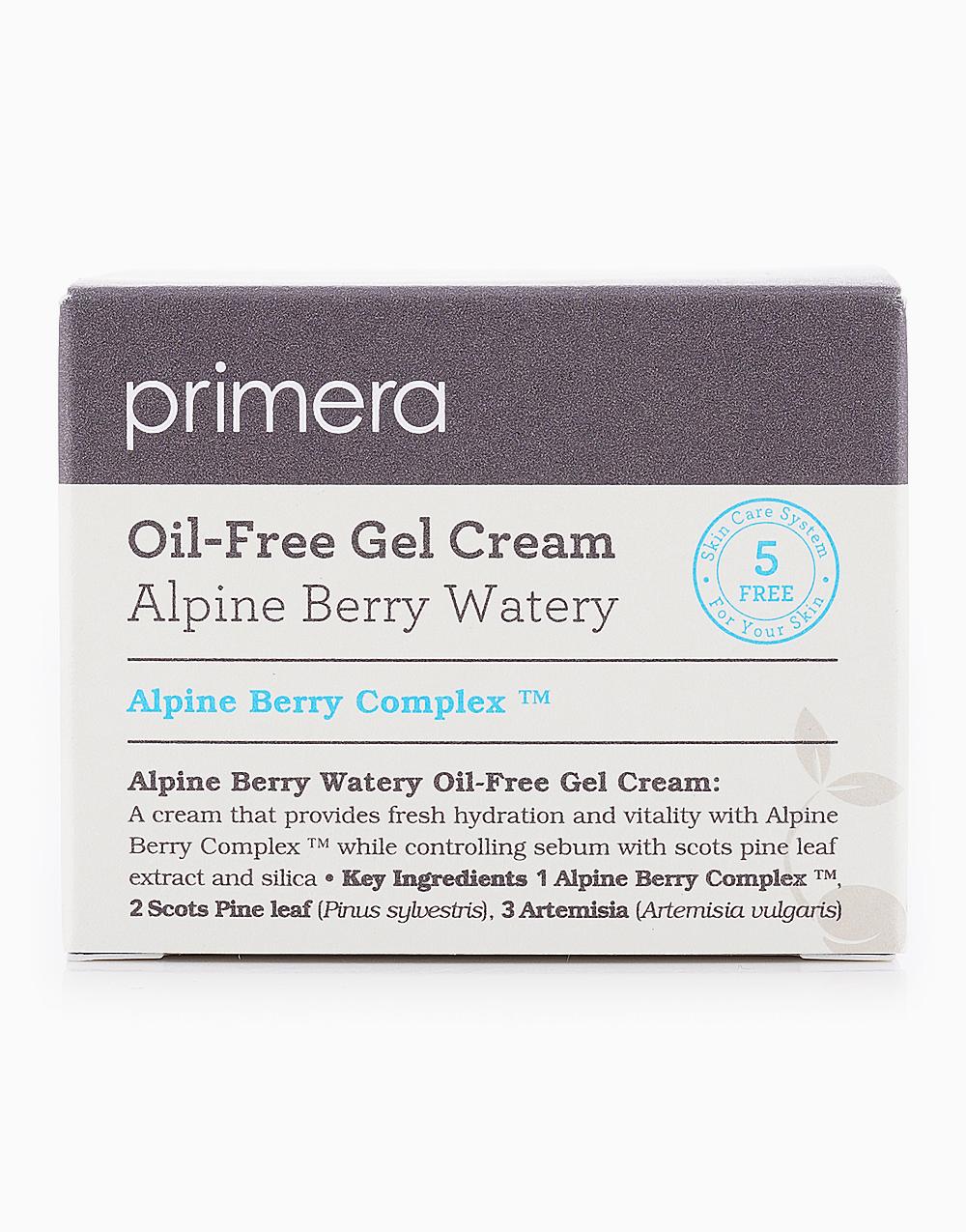 Alpine Berry Watery Oil-Free Gel Cream (50ml) by Primera