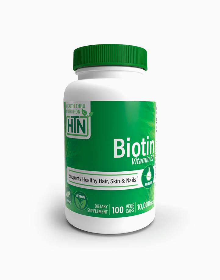 Biotin 10,000mcg (100 Vegecaps) by Health Thru Nutrition