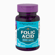 Piping rock folic acid  800 mcg  250 tablets