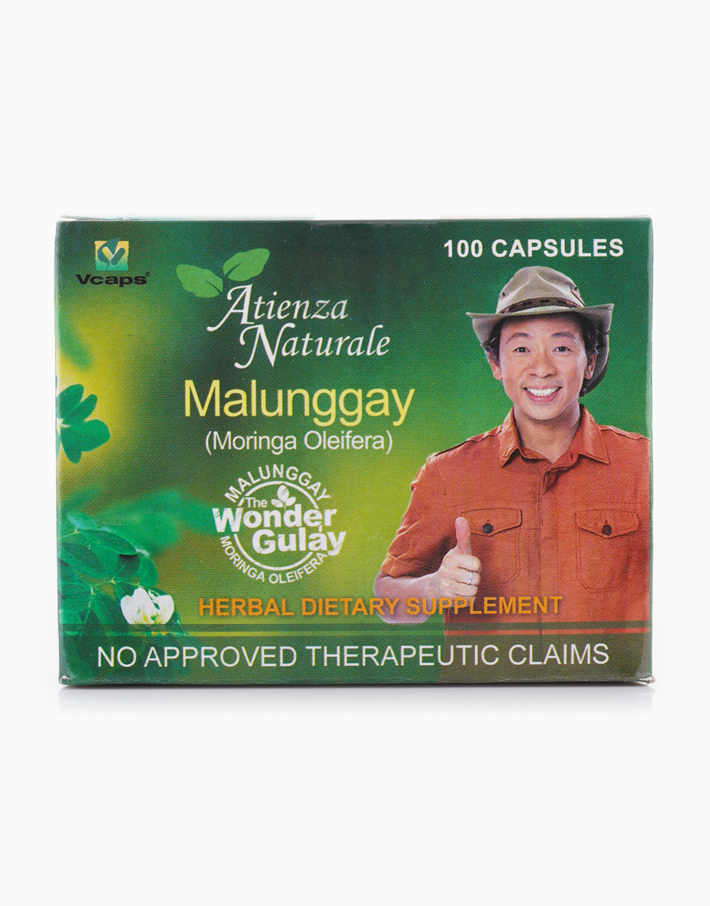 Malunggay Capsule (100s, 500mg) by Atienza Naturale
