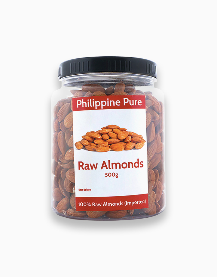 Raw Almonds (500g Jar) by Philippine Pure