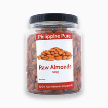 Philippine pure raw almonds %28500g jar%29