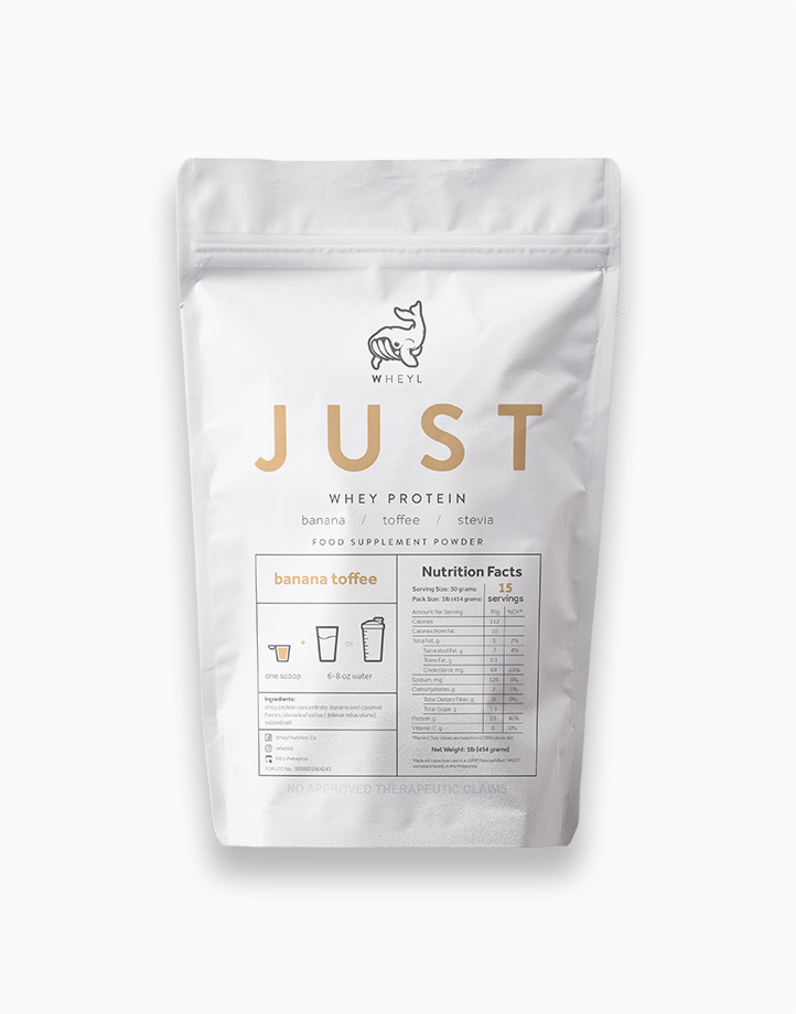 Just Banana Toffee Whey Protein (454g) by Wheyl Nutrition Co.