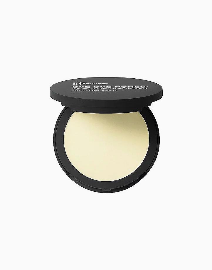 Bye Bye Pores Pressed Anti-Aging Poreless Finishing Powder Translucent by IT Cosmetics