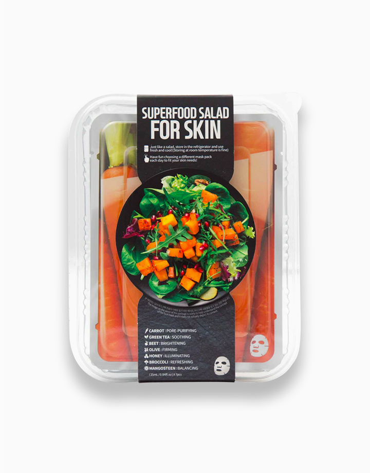 Superfood Carrot Salad Mask Package by Farmskin