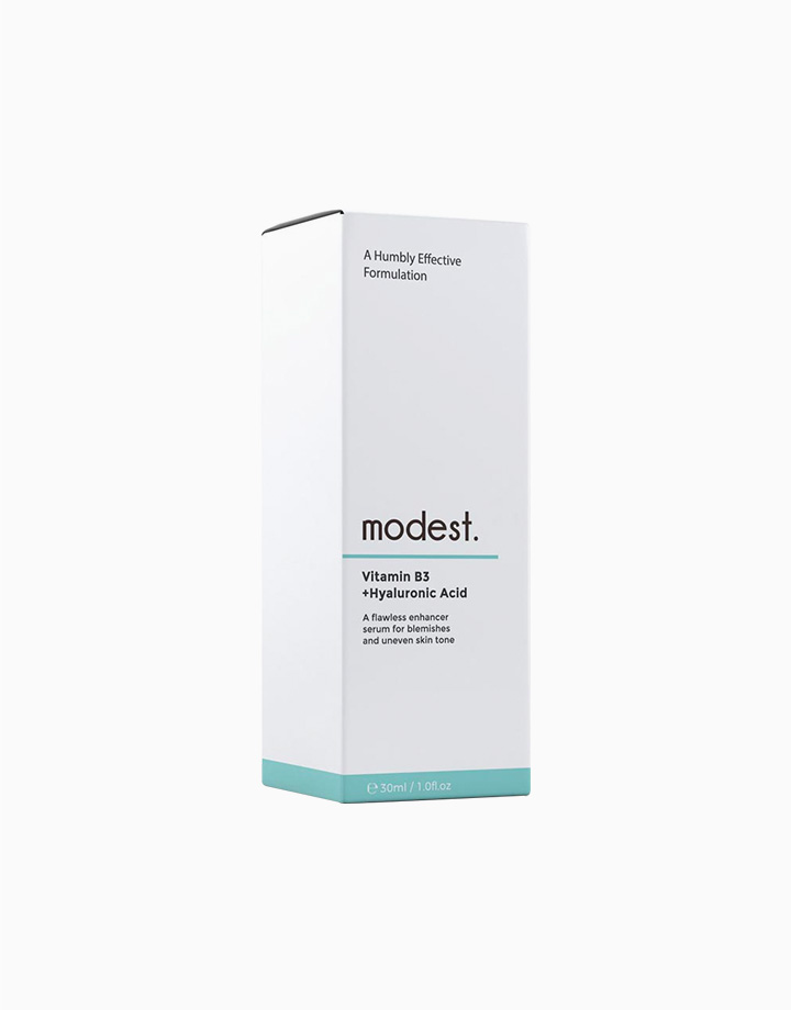 Vitamin B3 (Niacinamide) + Hyaluronic Acid Serum by Modest. Skincare