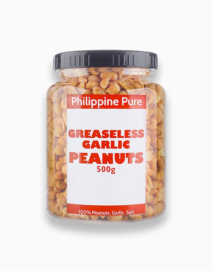 Greaseless Garlic Peanuts (500g Jar) by Philippine Pure