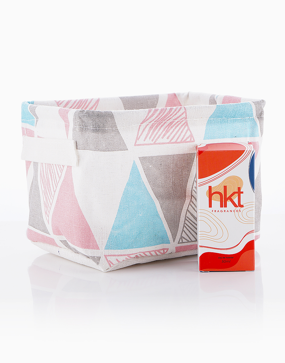 Perfume for Women in Boss Babe + Storage Organizer in Multi Color by HKT Fragrances