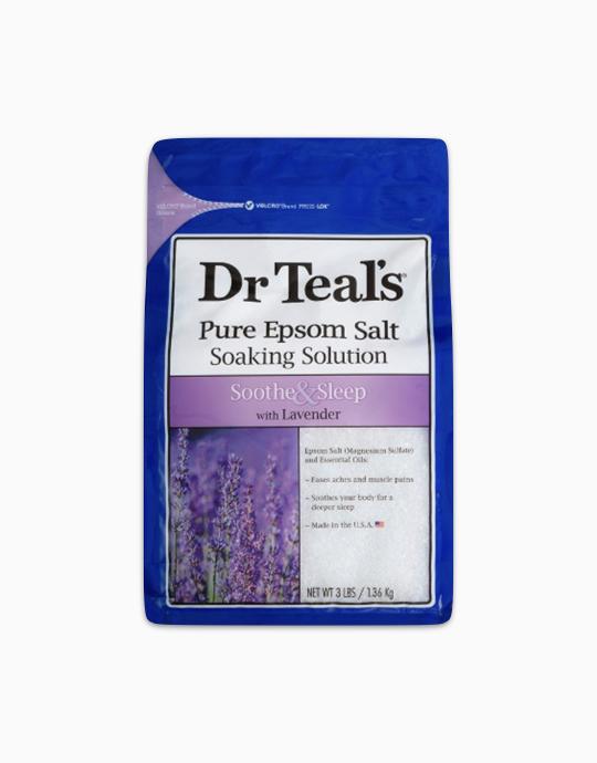 Epsom Salt Soaking Solution With Lavender by Dr. Teal's