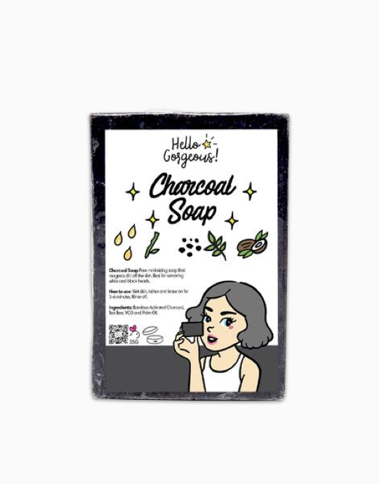 Charcoal Soap by Hello Gorgeous