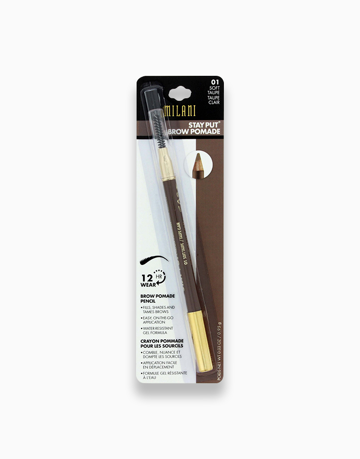 Stay Put Brow Pomade Pencil by Milani   Soft Taupe