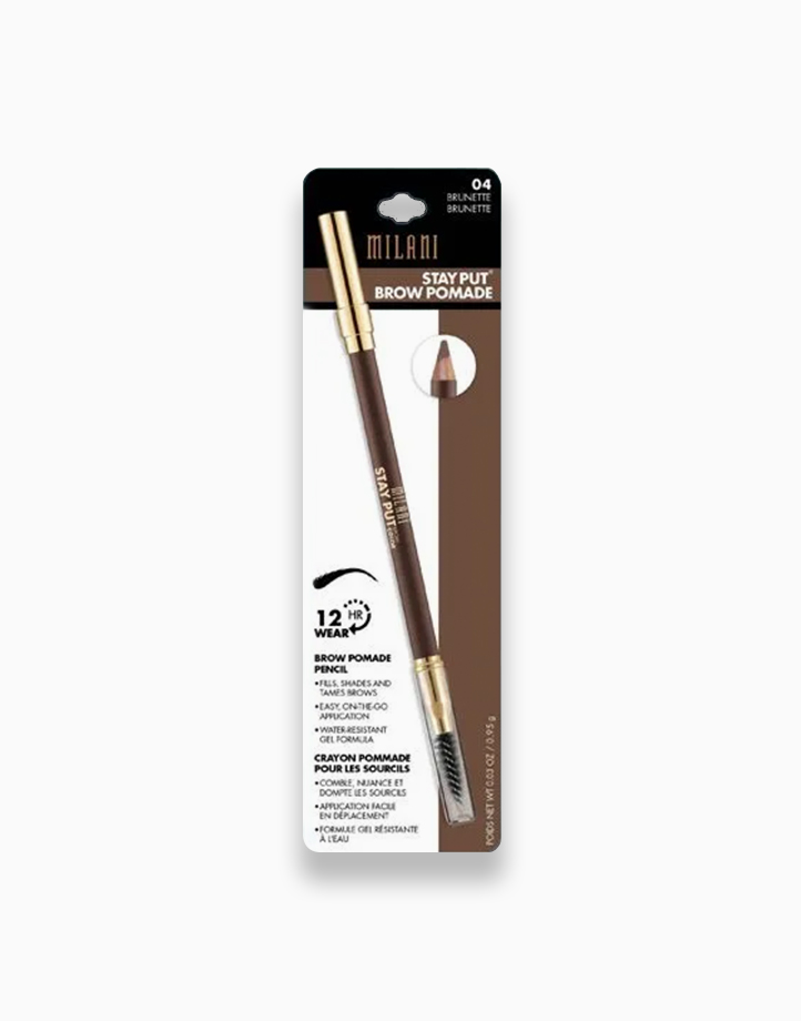 Stay Put Brow Pomade Pencil by Milani   Brunette