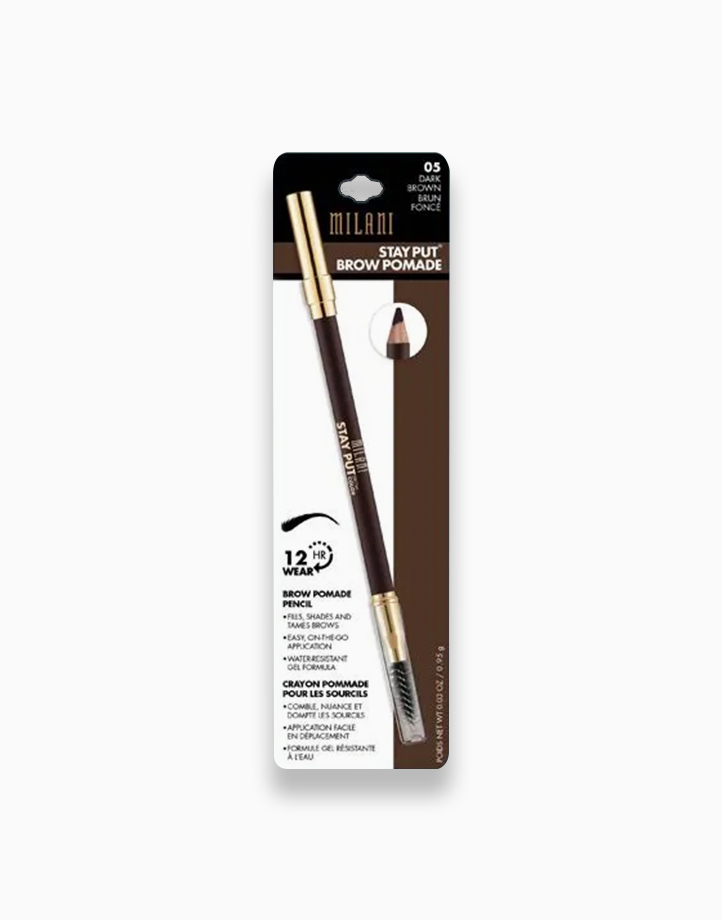 Stay Put Brow Pomade Pencil by Milani   Dark Brown
