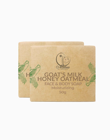 Honey Oatmeal Soap (2 Pcs.) by Milea