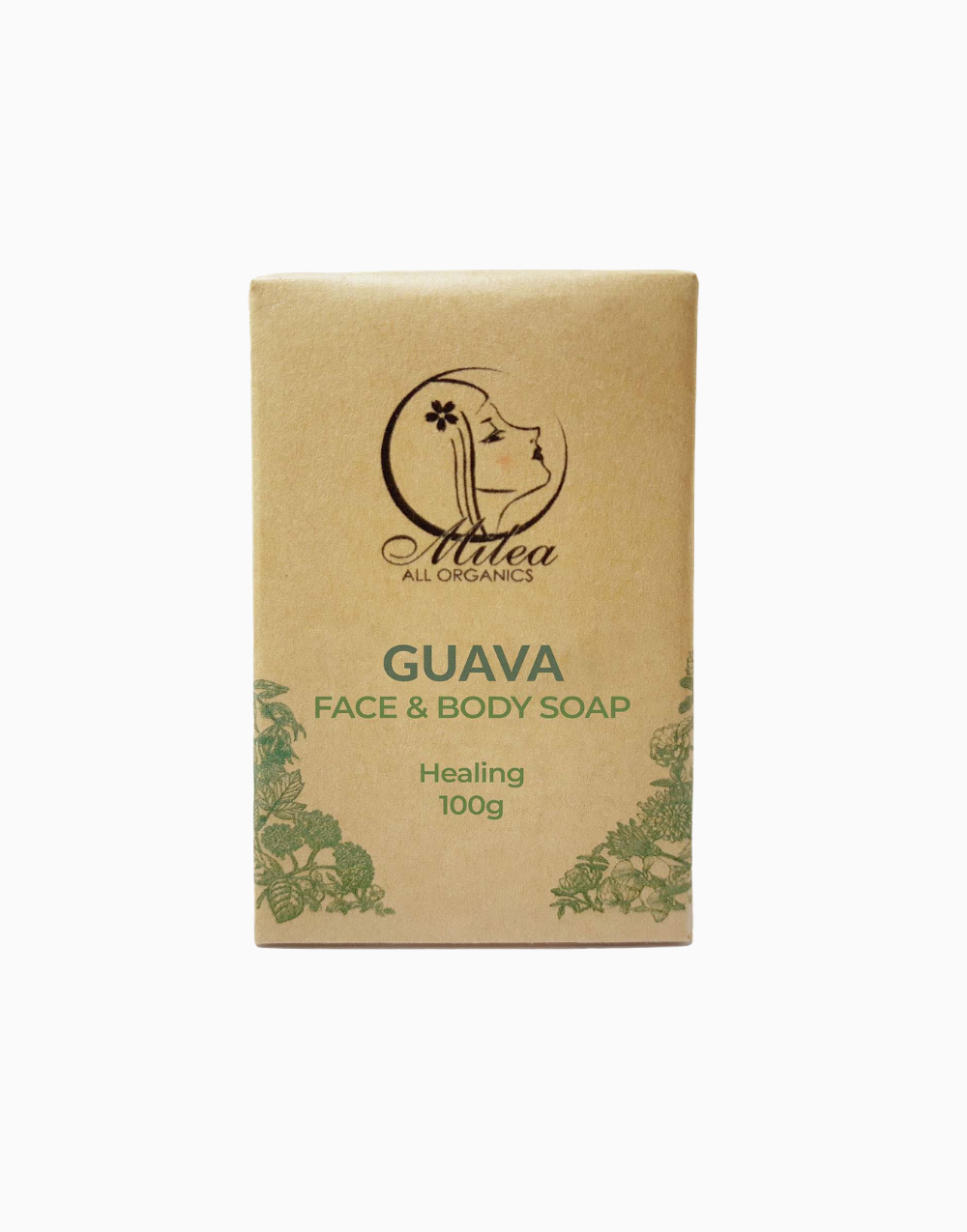All Organics Guava Soap (100g) by Milea