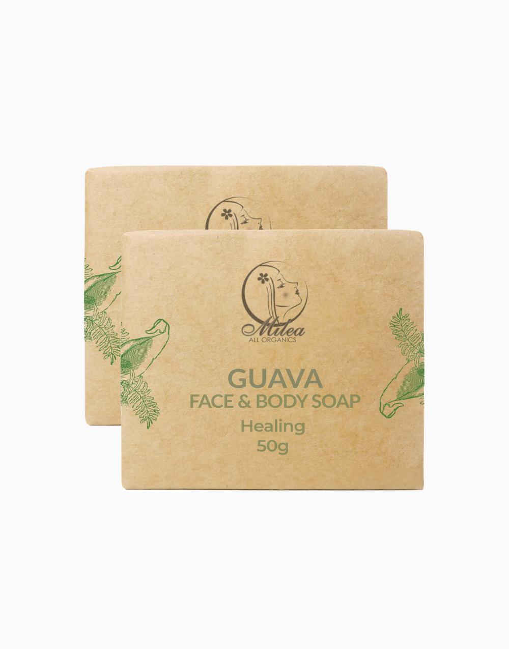 All Organics Guava Soap (50g) (2 Pcs.) by Milea