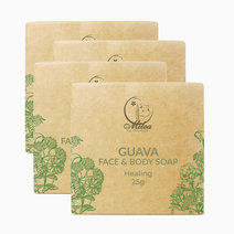 All organics guava soap %2825g%29 %284 pcs.%29