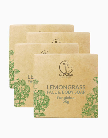 Lemongrass Soap (25g) (4 Pcs.) by Milea