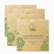 All organics lemongrass soap %2825g%29 %284 pcs.%29 %281%29