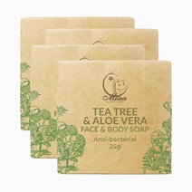 Tea tree   aloe vera soap %2825g x 4 pcs.%29
