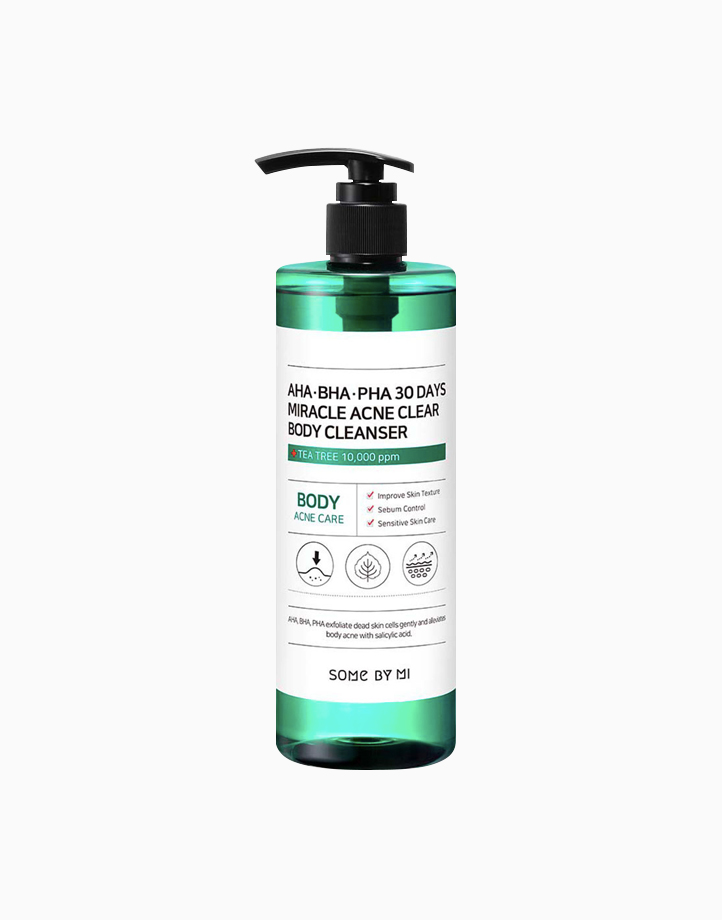 AHA BHA PHA 30 Days Miracle Acne Clear Body Cleanser (400g) by Some By Mi