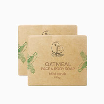 Oatmeal soap %2850g%29 %282 pieces%29