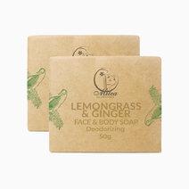 Lemongrass & Ginger Soap (50g) by Milea