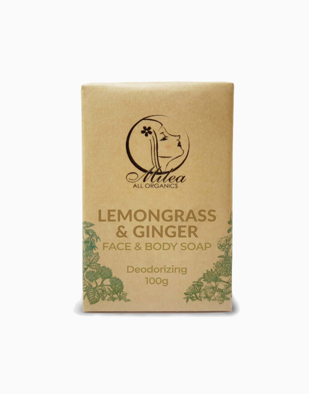 Lemongrass & Ginger Soap (100g) by Milea
