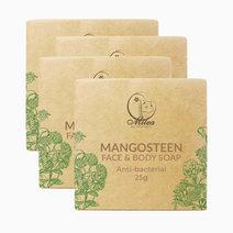 Mangosteen Soap (25g x 4pcs) by Milea