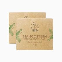 Mangosteen Soap (50g x 2pcs) by Milea