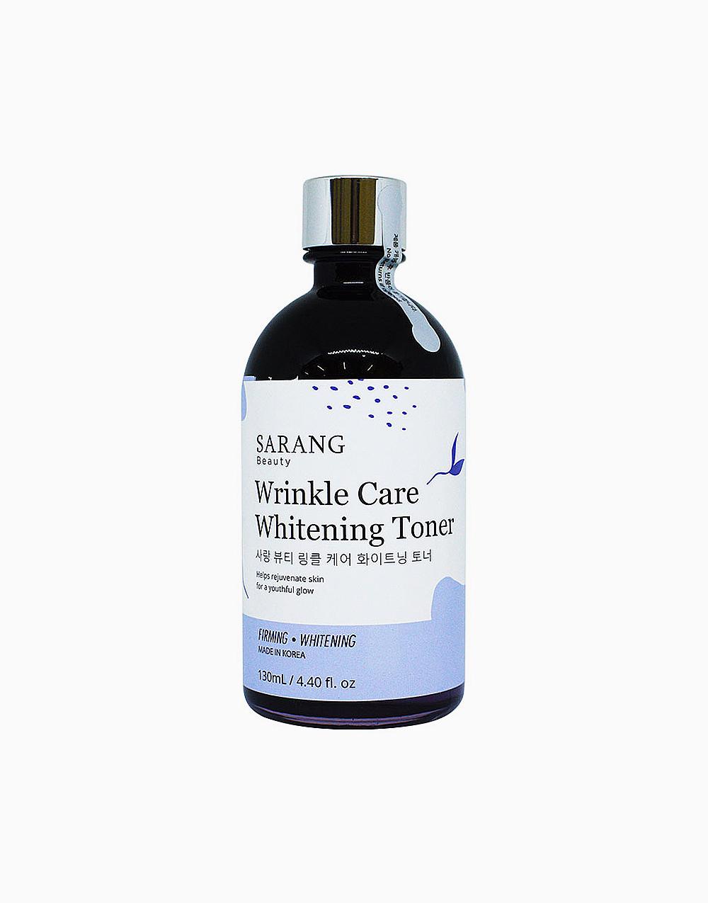 Wrinkle Care Whitening Toner (130ml) by Sarang Beauty