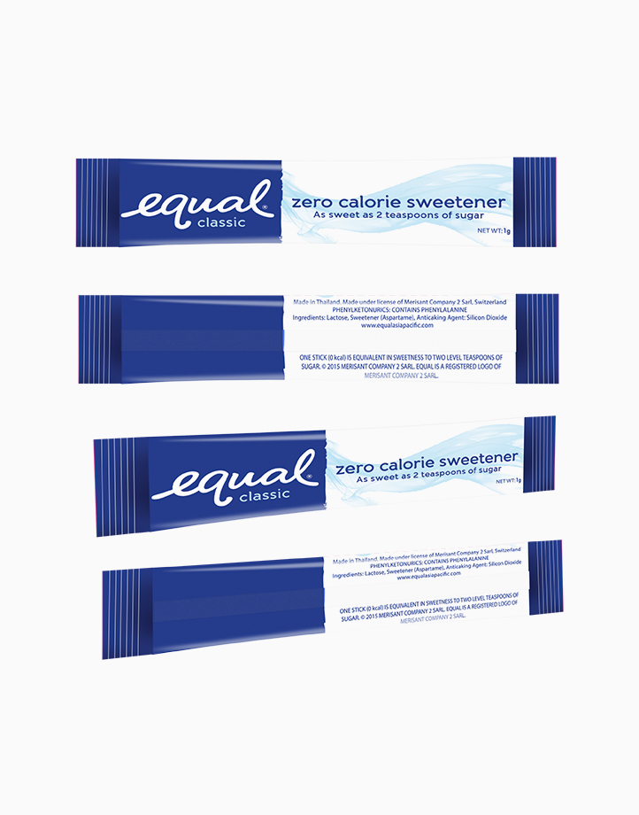 Equal Classic Zero Calorie Sweetener (100 Sticks) by Equal Philippines