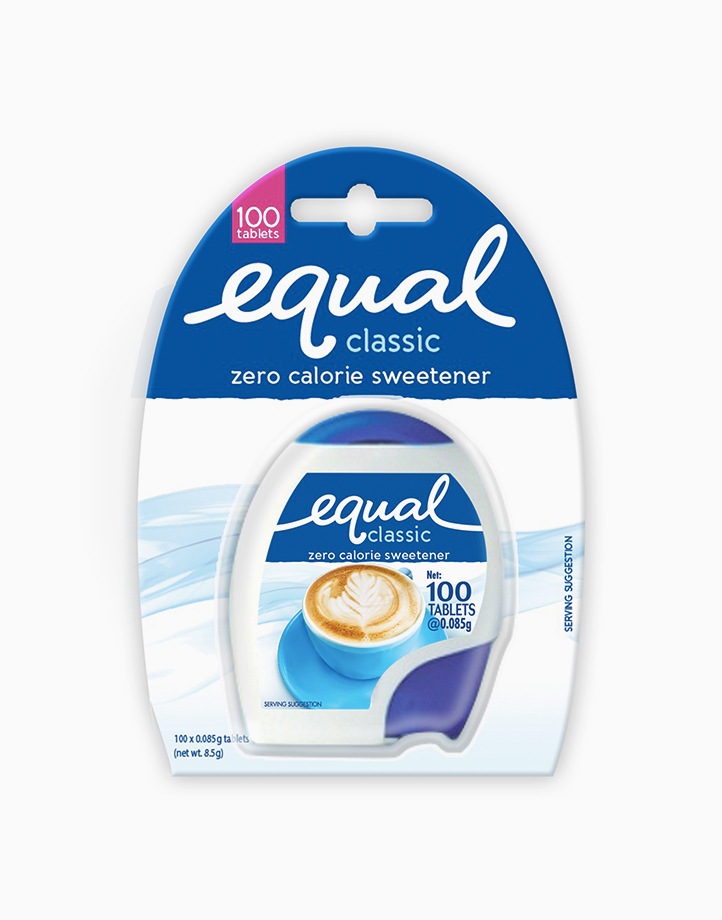 Equal Classic Zero Calorie Sweetener (100 Tablets) by Equal Philippines