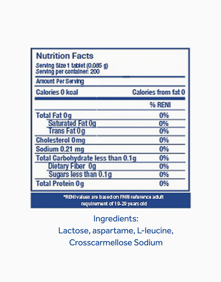 Equal Classic Zero Calorie Sweetener (200 Tablets) by Equal Philippines