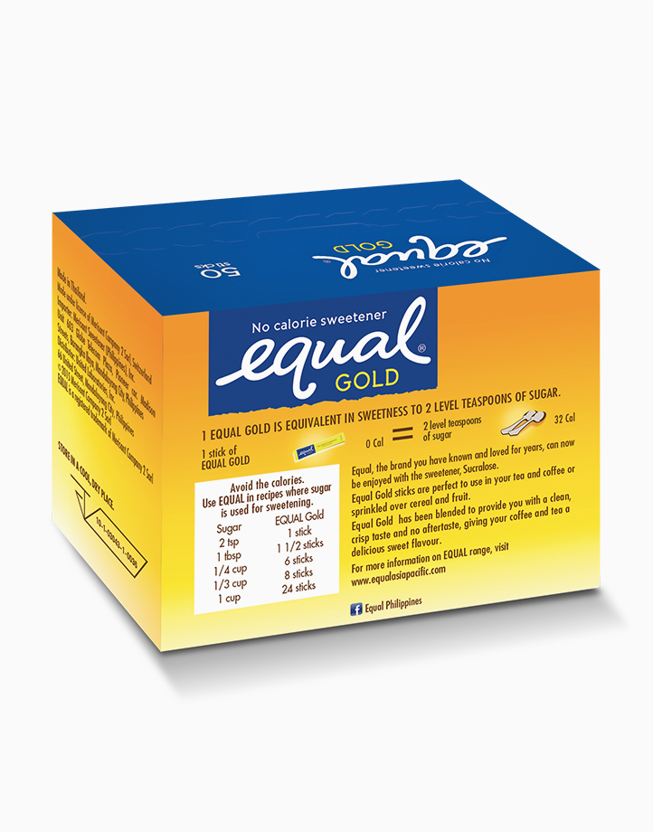 Equal Gold No Calorie Sweetener (50 Sticks) by Equal Philippines