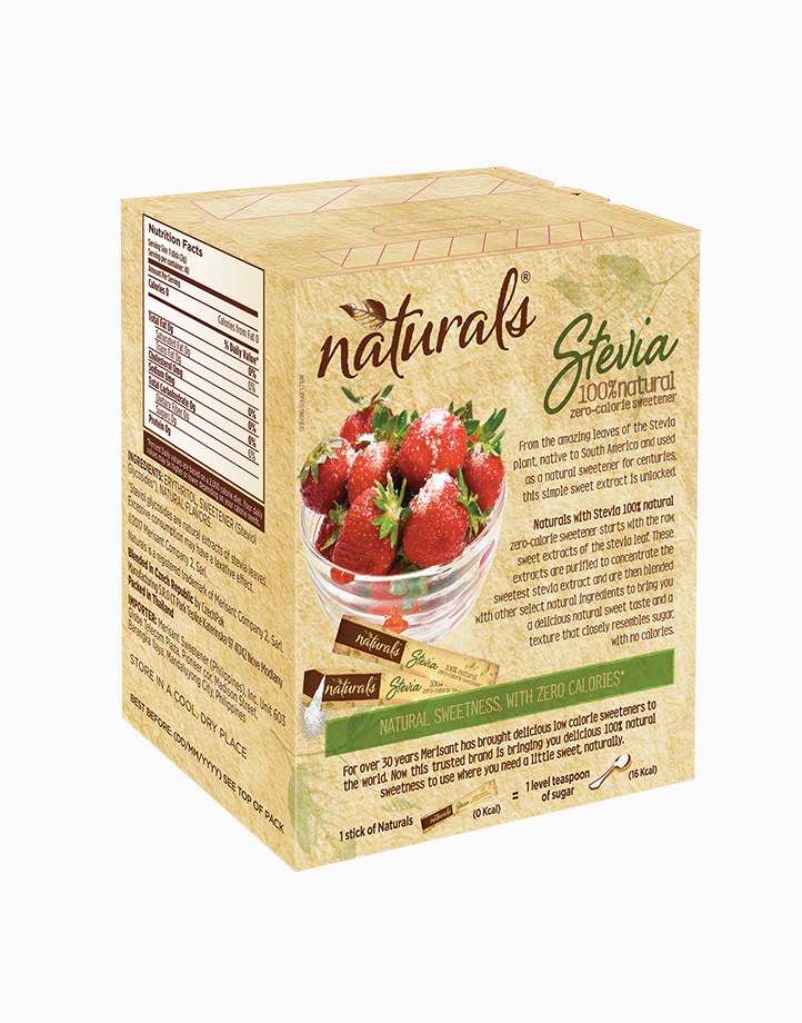 Naturals Stevia Zero Calorie Sweetener (40 Sticks) by Equal Philippines