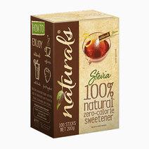 Naturals stevia zero calorie sweetener %28100 sticks%29