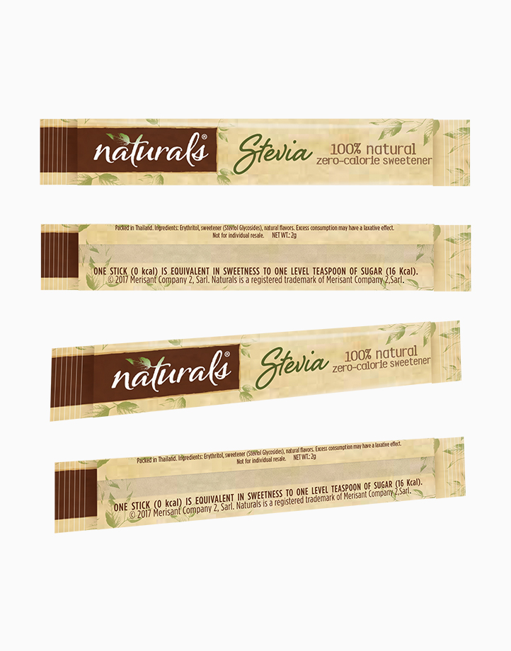 Naturals Stevia Zero Calorie Sweetener (100 Sticks) by Equal Philippines
