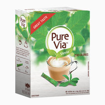 Pure via stevia zero calorie sweetener %2840 sticks%29