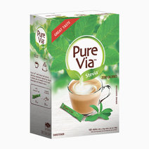 Pure via stevia zero calorie sweetener %28100 sticks%29